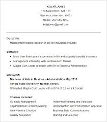 Entry Level Business Administration Resume Business Resume Examples Business Resume Template Free Good