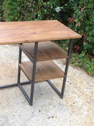 Computer Desk Ebay by Vintage Modern Rustic Industrial Home Office Desk Metal Frame With