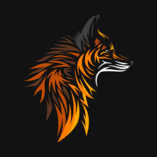 tribal fox fox t shirt teepublic