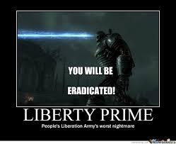 Liberty Prime Meme - liberty prime by francis vila 3 meme center