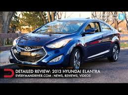 hyundai elantra reviews 2013 detailed review 2013 hyundai elantra on everyman driver