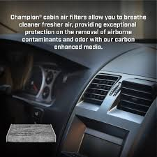 nissan rogue cabin air filter amazon com champion ccf1848 activated carbon replacement cabin
