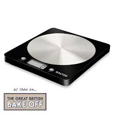 modern kitchen scales electronic scales salter disc digital kitchen scale black