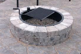 Brick Fire Pit Kit by Fire Pit Patio Pavers Fire Pit Flagstone Patio Square Stone Fire