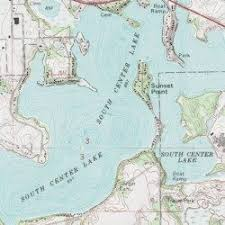 minnesota topographic map south center lake chisago county minnesota lake lindstrom usgs