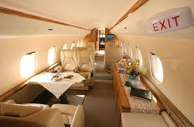 Global Express Interior Heavy Jets