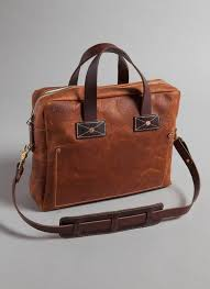 briefcase made in tennessee from hand cut pebble grain leather billy reid