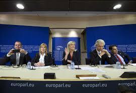 parlement europ n si e groupe fn au parlement européen un succès relatif pour marine le pen