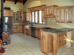 Rustic Hickory Kitchen Cabinets by Hickory Kitchen Cabinets Luxury With Image Of Hickory Kitchen