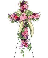 lafayette florist royal farewell standing spray in lafayette la flowers by rodney