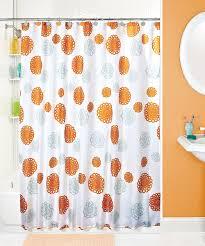Cassandra Shower Curtain by Orange Floral Shower Curtain Showers Flowers Floral Shower