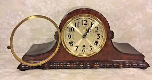 Herman Miller Clocks Vintage Herman Miller Tambour Case Clock Westminster Chimes Circa