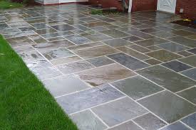 Interlocking Slate Patio Tiles by Outdoor Patio Stones