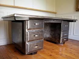 bureau metallique bureau métallique de président en acier brossé jpg tables