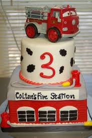 little boy buttercream fire truck cake my own buttercream cakes