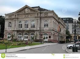Theater Baden Baden The Theater Building Baden Baden Germany Built In 1860 1862