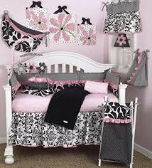 Girly Crib Bedding Cotton Tale Designs Girly 8 Crib Bedding Set