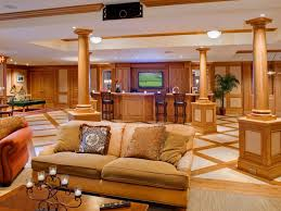 Media Game Room - media rooms basement party hgtv