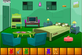 escape from green bedroom cartoon for kids yourchannelkids