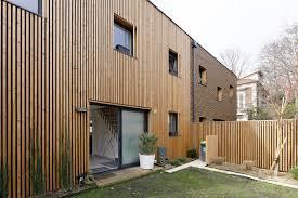 bardage bois claire voie deux maisons bp olivier olindo architecte