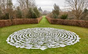 richard long moves heaven and earth at houghton hall wallpaper