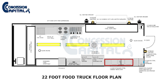 Simple Floor Plan Samples by Interesting Food Truck Floor Plans To Design Decorating