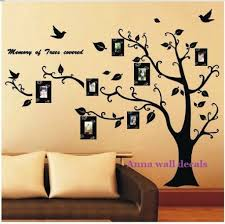 picture frame vinyl wall decals wallstickery tree sticker lucky tree family wall decals children sticker