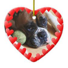 boxer dog xmas boxer dog christmas tree decorations u0026 ornaments zazzle co uk