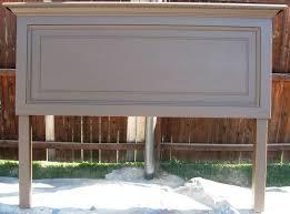 door headboards diy classic one panel old door headboard for a