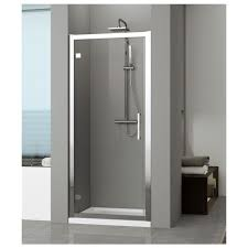 novellini kuadra 700mm hinged shower door