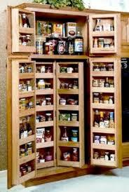 armoire de cuisine rustique accessoires de cuisine système coulissant et pivotant module