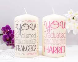 graduation candles etsy