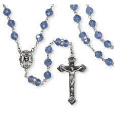 italian rosary of heaven austrian blue italian rosary beautiful