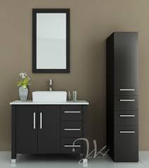 Modern Bathroom Sinks And Vanities Delectable Look Using Modern Bathroom Vanities With Vessel Sinks