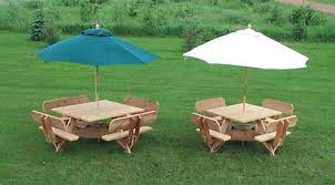 Free Octagon Picnic Table Plans With Umbrella Hole by 56