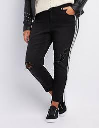 Plus Size Ripped Leggings Plus Size Distressed Denim U0026 Ripped Jeans Charlotte Russe
