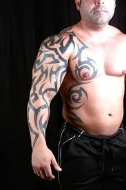 cool groovy tribal arm tattoomagz