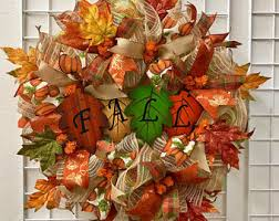 thanksgiving deco mesh wreath fall deco mesh wreath fall