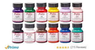 amazon com angelus acrylic leather paint starter kit