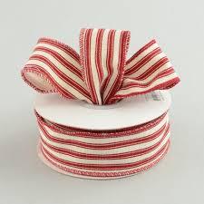 1 5 ticking stripe ribbon 10 yards ra12216w