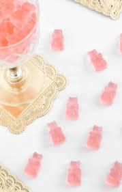 make your own gummy bears diy rosé wine gummy bears sprinkle bakes