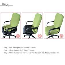 Computer Chair Covers Chair Cover King Do Way Fitted Chair Slipcovers Washable Removable