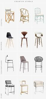 best counter stools 12 striking counter stools for your kitchen the interior collective
