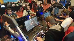 Target Gaming Chairs E Blue Showoff Rgb Gaming Chair At Target Open Day 2016 Eteknix