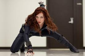 black widow jumpsuit johansson as the black widow in the