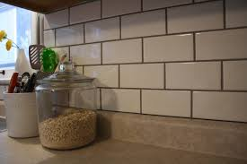 how to install simple subway tile trends with grouting kitchen