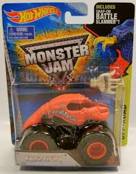 monster jam truck amazon com crushstation lobster truck monster jam truck diecast