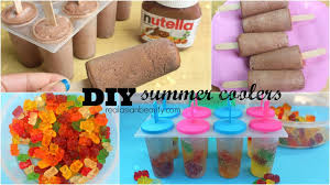 make your own gummy bears diy summer coolers popsicles using nutella gummy bears