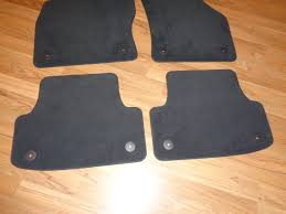 Exercise Floor Mats Over Carpet by Audi A4 Oem Black Carpet Floor Mats Fits Many Models 2013 2015