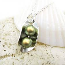 Two Peas In A Pod Charm Jc Jewelry Design Two Peas In A Pod Necklace Sterling Silver And